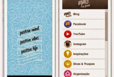 Vídeo- Aplicativo gratuito para smartphone Organize sem Frescuras – como baixar e novas atualizações