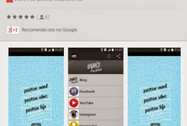 Aplicativo Organize sem Frescuras no Google Play