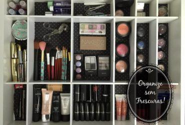 Vídeo: Transformação e organização da minha gaveta de maquigem, óculos e acessórios