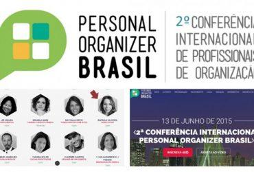 2º Conferência Internacional de personal Organizer – eu vou!