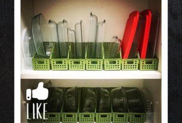 Cozinha vencedora do desafio de organização no Instagram