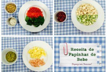 Vídeo: Três receitas rápidas, saborosas e saudáveis de papinhas de bebê