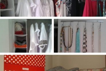 Closet vencedor do desafio de organização do Instagram