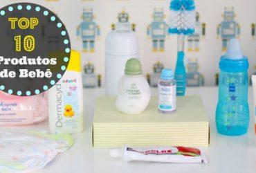 Os 10 produtos TOP de bebê