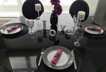 Mesas decoradas para receber com charme