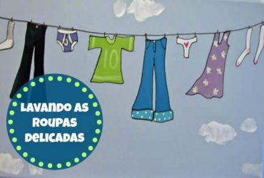 Como lavar as roupas delicadas