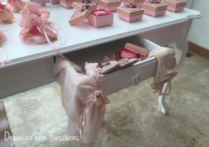 Decoração de festa Ballet
