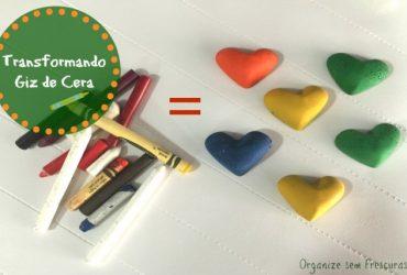 Especial Dia das Crianças| Transformando giz de cera em formatos divertidos