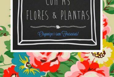 Como cuidar das flores e plantas em casa