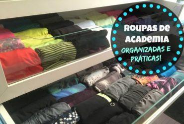 Como dobrar e organizar as roupas Fitness (ginástica)