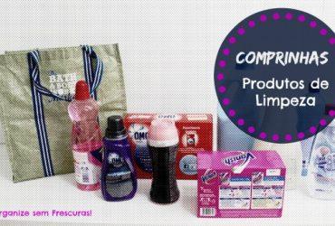 Comprinhas no Supermercado: Produtos de Limpeza e Lavagem das Roupas