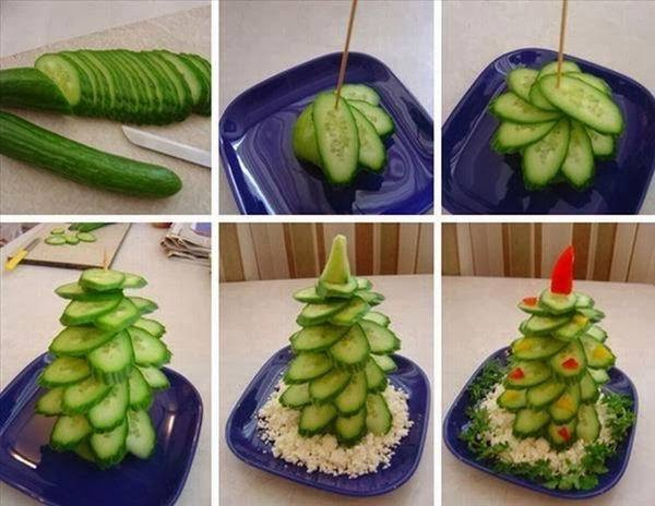 Arvore de Natal com pepino