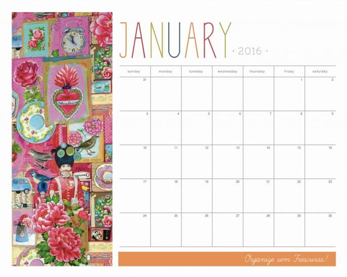 Organize Sem Frescuras Rafaela Oliveira Arquivos Calendario