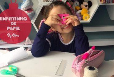 Natal sem Frescuras Kids: enfeitinho feito de papel by minha filha Alice