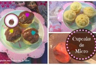 Cupcake de Microondas, by Alice