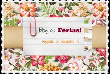 Blog de Férias- Volto Logo =)