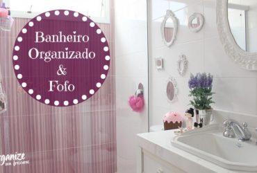 Decoração e Organização do Banheiro da minha filha