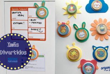 DIY com Nestlé | Imãs divertidos para organizar, decorar e encantar!