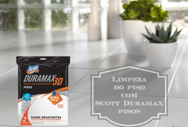 Limpeza prática do piso com Scott Duramax Pisos