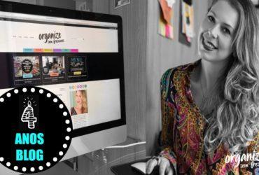 Vlog 4 Anos Blog | Meu dia-a-dia de trabalho, vídeos, casa, filhos e organização
