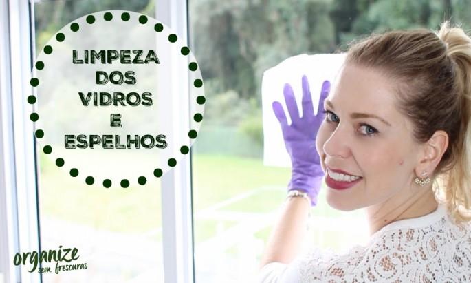 Limpeza Vidros e Espelhos