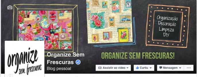 Facebook Organize sem Frescuras