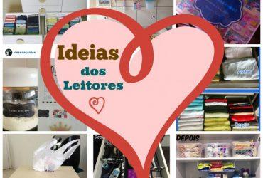 Inspirações e ideias da organização dos leitores