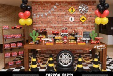 Carros Party: Decoração de Aniversário do meu filho
