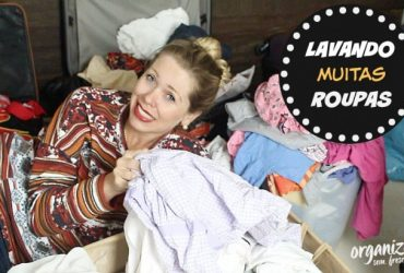 Rotina Dona de Casa: Lavando muitas Roupas (Lava e Fala)