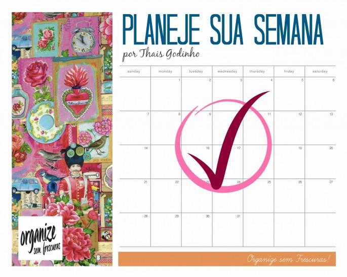 Planeje sua semana