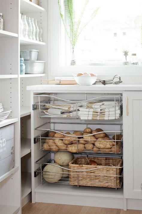 armário para as batatas