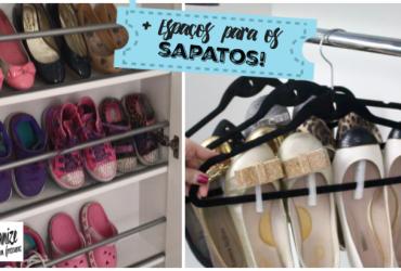 Ideias Criativas para Organizar os Sapatos e aproveitar os Espaços