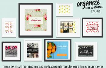OrganizaçãoLoja Virtual Organize sem Frescuras   Papelaria Digital e Produtinhos Fofos para você organizar com estilo!
