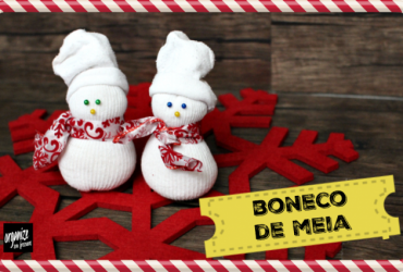 Natal Decor | Boneco de Neve ( e Fofo) de Meia- com Alice