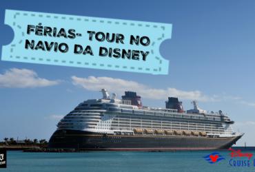 Férias Mágicas no Navio da Disney ( Disney Cruise Fantasy)