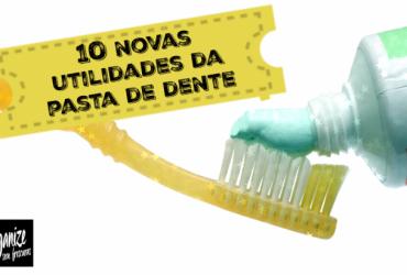 10 Dicas e Truques da Pasta de Dente na Limpeza