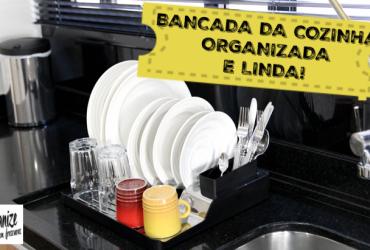 Dicas para organizar, decorar e limpar a bancada da cozinha (pia)