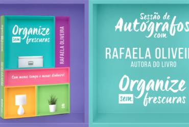 Evento de Lançamento do Livro Organize sem Frescuras ( SP, Curitiba e Rio)