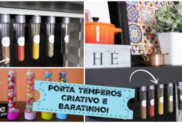 Kit Porta Temperos de Imã criativo e baratinho